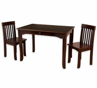 KidKraft <br />Avalon Table & Chairs Set (Espresso)