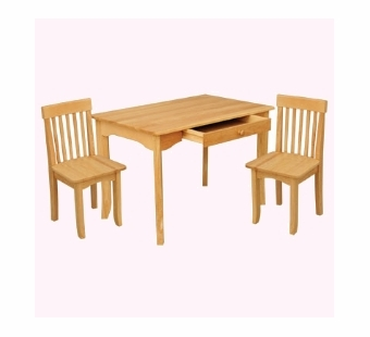 KidKraft <br />Avalon Table & Chairs Set (Natural)