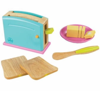 KidKraft <br />Bright Toaster Set