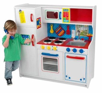 KidKraft <br />Deluxe Let's Cook Kitchen