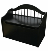 KidKraft <br />Limited Edition Toy Box (Black)