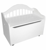 KidKraft <br />Limited Edition Toy Box (White)