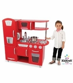 KidKraft <br />Red Vintage Kitchen
