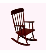 KidKraft <br />Spindle Rocking Chair (Cherry)