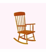 KidKraft <br />Spindle Rocking Chair (Honey)