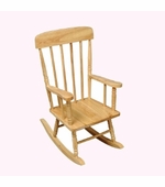 KidKraft <br />Spindle Rocking Chair (Natural)