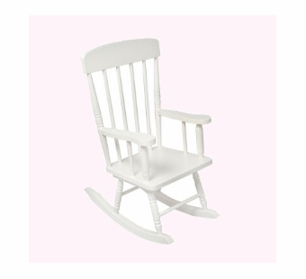 KidKraft <br />Spindle Rocking Chair (White)
