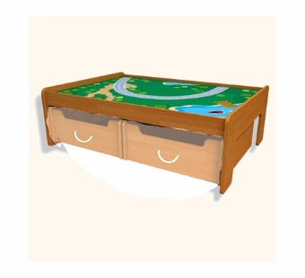 KidKraft<br />Train Table (Honey)