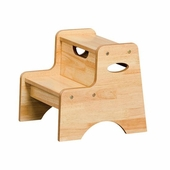 KidKraft <br />Two Step Stool (Natural)