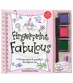 Klutz <br />Fingerprint Fabulous Book