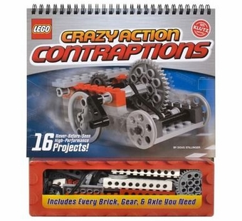 Klutz <br />LEGO Crazy Action Contraptions Book