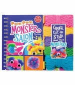 Klutz <br />Pom-Pom Monster Salon Book