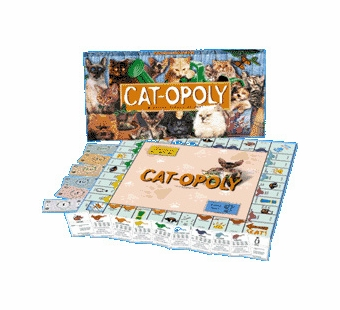 Late for the Sky Games <br />Catopoly Board Game