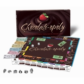 Late for the Sky Games <br />Chocolateopoly Board Game