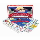 Late for the Sky Games <br />Christmasopoly Board Game