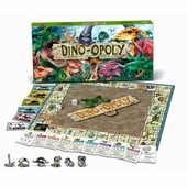 Late for the Sky Games <br />Dinoopoly Board Game