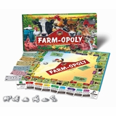 Late for the Sky Games <br />Farmopoly Board Game