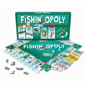 Late for the Sky Games <br />Fishinopoly Board Game