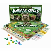 Late for the Sky Games <br />Forest Animalopoly Board Game