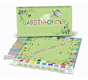 Late for the Sky Games <br />Gardenopoly Board Game