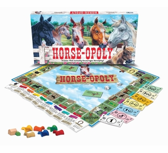 Late for the Sky Games <br />Horseopoly Board Game