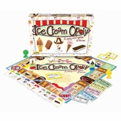 Late for the Sky Games <br />Ice Cream-opoly Board Game