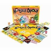 Late for the Sky Games <br />Monsteropoly Board Game