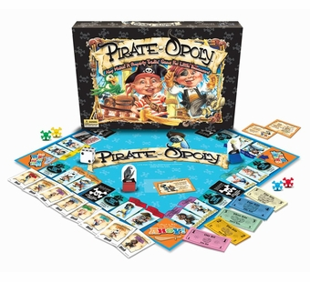 Late for the Sky Games <br />Pirateopoly Board Game