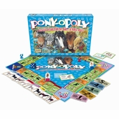 Late for the Sky Games <br />Ponyopoly Board Game