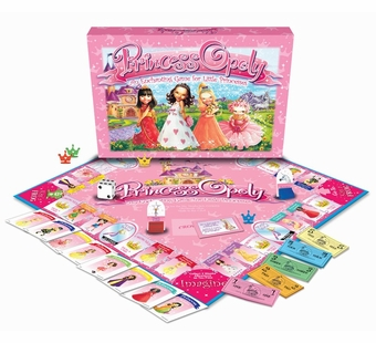 Late for the Sky Games <br />Princessopoly Board Game