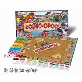 Late for the Sky Games <br />Rodeo-opoly Board Game