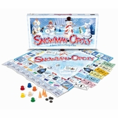 Late for the Sky Games <br />Snowmanopoly Board Game