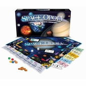 Late for the Sky Games <br />Space-opoly Board Game