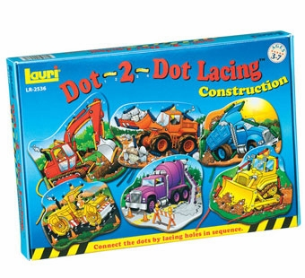 Lauri Puzzles <br />Dot 2 Dot Construction Lacing