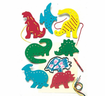 Lauri Puzzles <br />Lacing & Tracing Dinosaurs