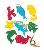 Lauri Puzzles <br />Lacing & Tracing Sea Life