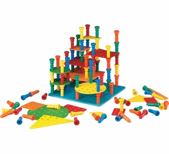 Lauri Puzzles <br />Tall-Stacker Peg Building Set