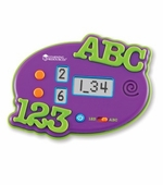 Learning Resources <br />ABC & 123 Electronic Flash Card Game