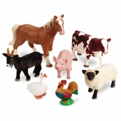 Learning Resources <br />Jumbo Farm Animals