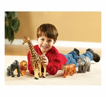 Learning Resources <br />Jumbo Jungle Animals Set