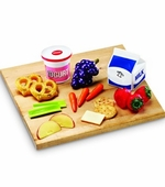 Learning Resources <br />Kid's Pretend Play Healthy Snacks Food Set