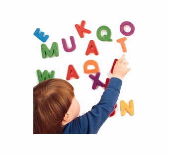 Learning Resources <br />Magnetic Uppercase Letters