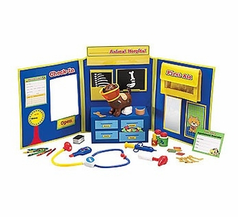 Learning Resources <br />Pretend Play Animal Hospital Set