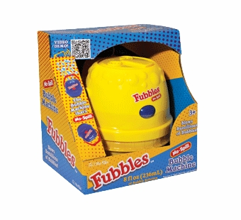 Little Kids Bubbles <br />No Spill Bubble Machine