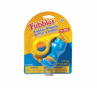Little Kids Bubbles <br />No Spill Bubble Whistle