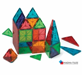 Magna Tiles <br />Clear Colors 100 Piece Set