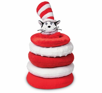 Manhattan Toy Co. <br />Dr. Seuss Cat in the Hat Toy Stacker