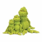 Manhattan Toy Co. <br />Dr. Seuss Grinch 9""