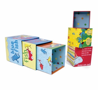 Manhattan Toy Co. <br />Dr. Seuss One Fish Stacking Blocks