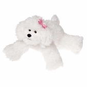 "Mary Meyer<br />Bianca the Bichon Frise Dog 12"" Stuffed Animal"